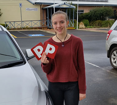 Toby's Driving School Student