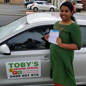 Toby's Driving School Student2